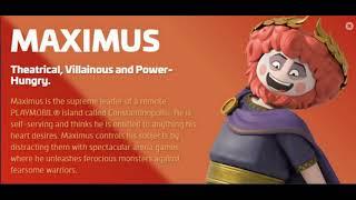 Meet Emperor Maximus, Adam Lambert, Playmobil The Movie