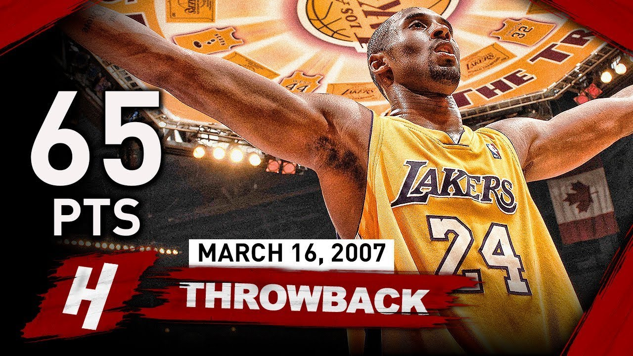 Kobe Bryant EPIC Full Highlights vs Trail Blazers (2007.03.16) - UNREAL 65  Points 476dce4c5