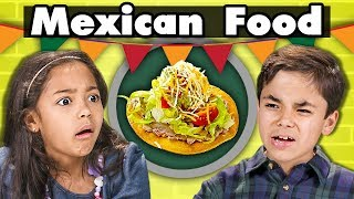 Baixar KIDS EAT MEXICAN FOOD | Kids Vs. Food