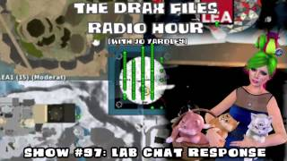 The Drax Files Radio Hour with Jo Yardley Show #97: Lab Chat Response