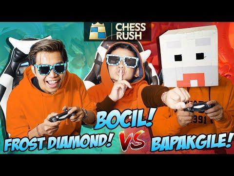 PERTAMA KALI FROST DIAMOND, BAPAKGILE, BOCIL MAIN BARENG 1 GAME! - Chess Rush Best Squad