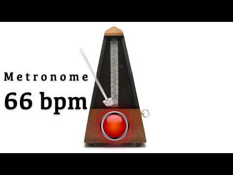 Metronome 66 bpm 🎼