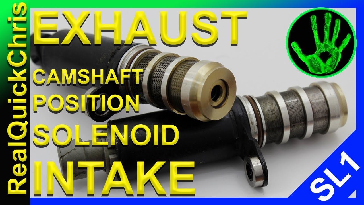 maxresdefault how to replace an exhaust and or intake camshaft position solenoid  at readyjetset.co