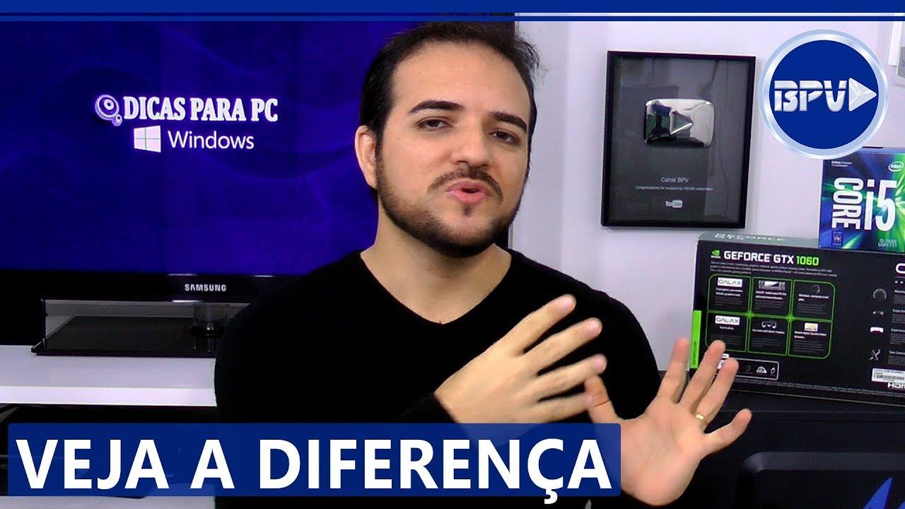 PC GAMER vs PC para Trabalho - Qual a DIFERENÇA entre eles?