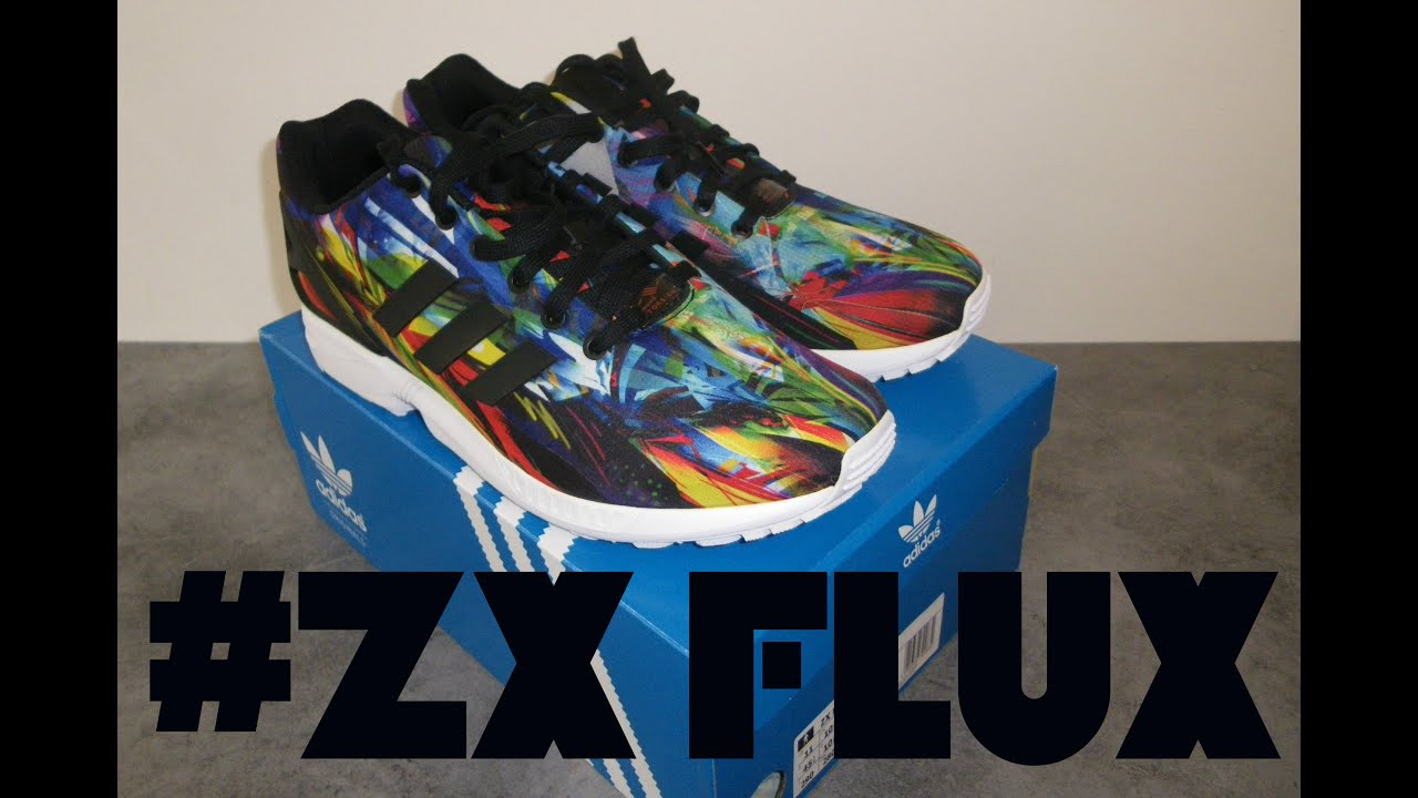 adidas zx flux multicolore