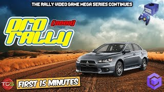 Pro Rally - Nintendo GameCube Gameplay (First 15 Minutes)  Rally Games Ep. 19