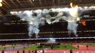Rugby - Tournoi des Six Nations : revivez le show du Principality Stadium avant Galles-France