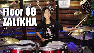 Gambar cover Floor 88 - Zalikha Drum Cover by Nur Amira Syahira