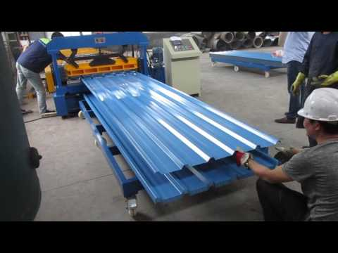 How operate roll forming machine