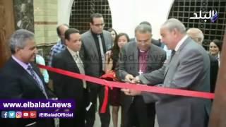 محافظ المنيا يفتتح أعمال تجديد الكنيسة الإنجيلية.. فيديو وصور