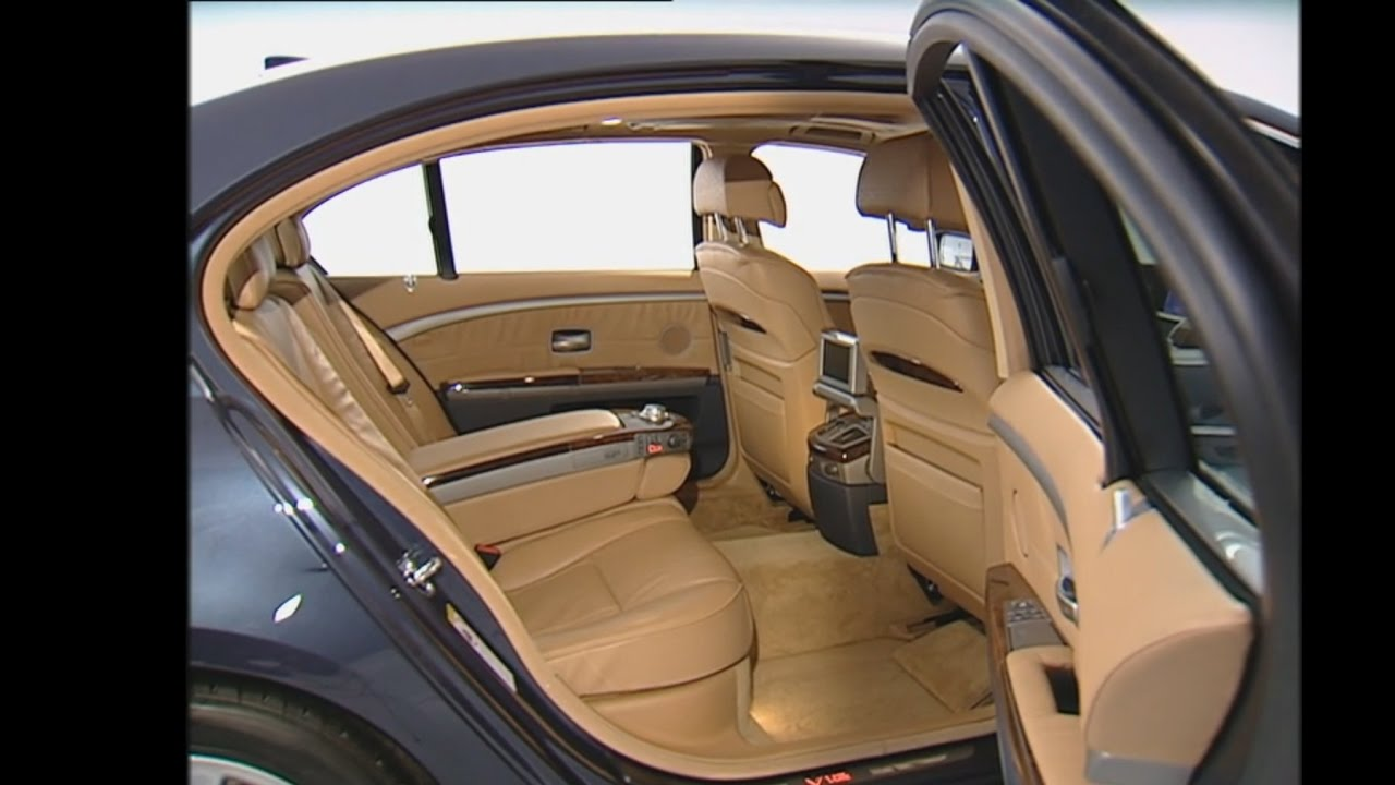 2003 BMW 760Li - Interior (E66 7 Series) - YouTube