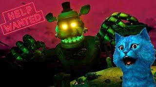 FNAF 8 VR ОГРОМНЫЙ СЕКРЕТНЫЙ АНИМАТРОНИК ДРЕДБЕР И КОШМАРНЫЕ АНИМАТРОНИКИ Five Nights at Freddy's VR