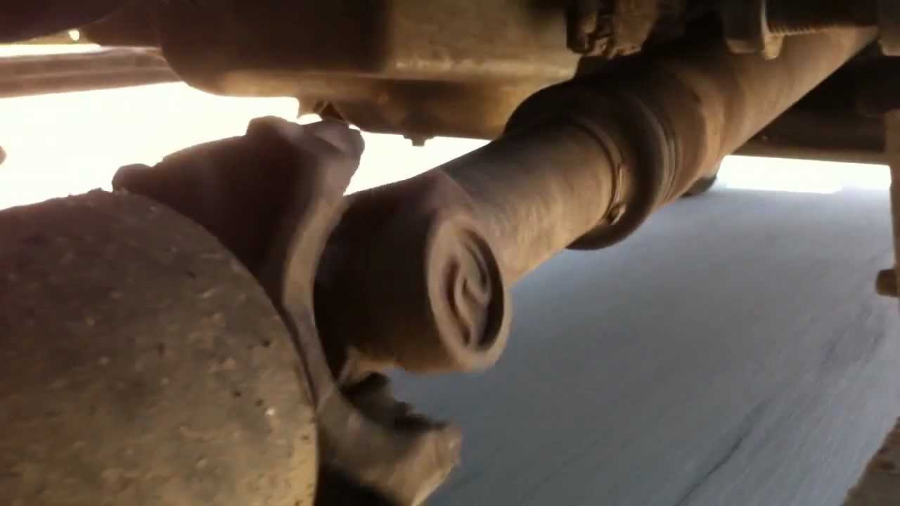 4x4 Front Driveshaft  Hubs Fixed