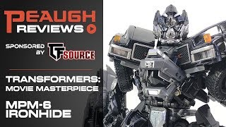 Video Review: Transformers Masterpiece MPM-6 IRONHIDE