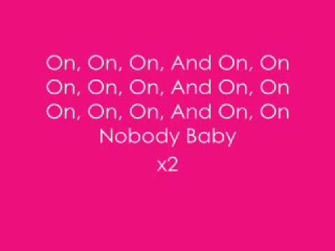 Keith Sweat  Nobody Lyrics