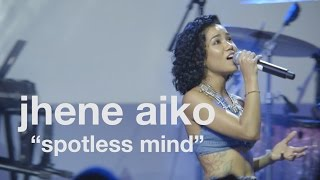 """Jhene Aiko performs """"Spotless Mind"""" live at vitaminwater's #uncappe..."""