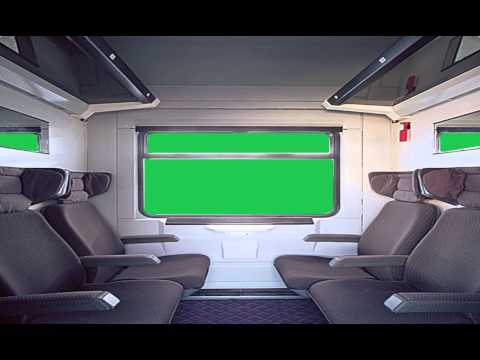 train green screen