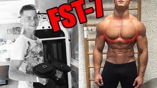 видео Тренировка груди по методу FST-7