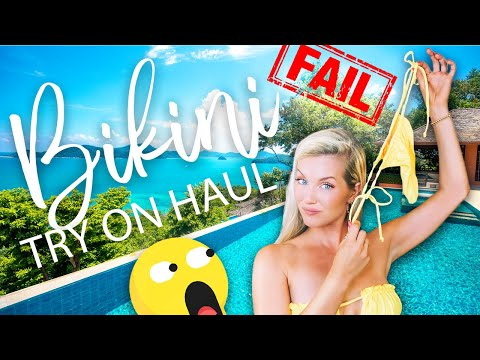 BIKINI TRY ON HAUL | FAIL! | SheShow.com from YouTube · Duration:  15 minutes 15 seconds