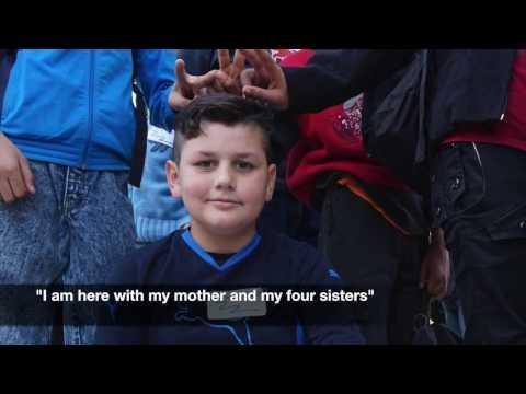 Refugee/migrant children go to school in Greece - Hidar