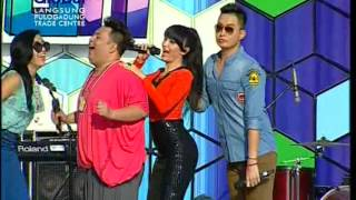 Gambar cover ZASKIA Live At 100% Ampuh (11-08-2012) Courtesy GLOBAL TV