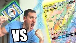 *I MUST PULL HYPER RARE CHARIZARD!* Opening Pokemon Cards UNBROKEN BONDS Booster Packs!