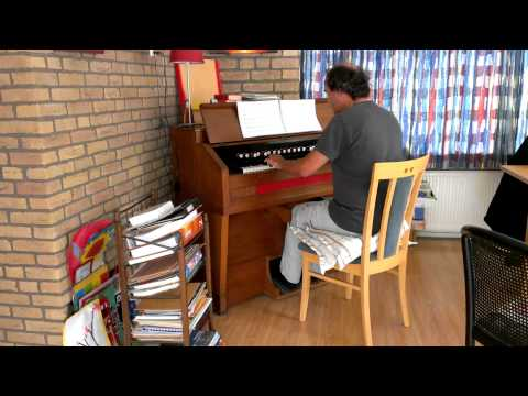 Genevan Psalm 116 Gerrit Stulp on Hinkel reed organ