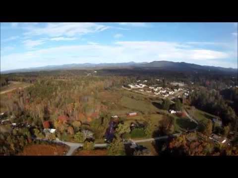 Cleveland Georgia 360 degree Aerial Video
