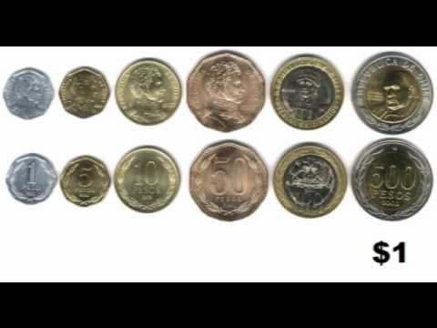 Chile Winter Term 2012: Chilean Currency
