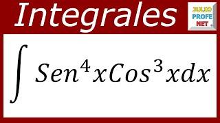 INTEGRALES TRIGONOMÉTRICAS - Ejercicio 1