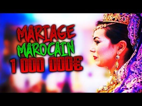 Un Mariage Marocain a plus de 1 Millions D