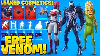 ALL NEW LEAKED SKINS & EMOTES! *VENOM* (Cobb, Mincemeat, Backscatter, Heart-Stopper)