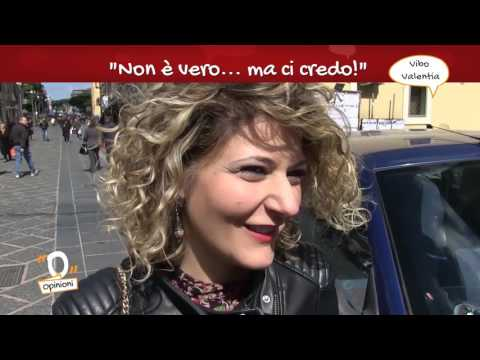 Opinioni - Superstizione, le interviste a Vibo Valentia