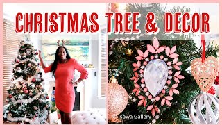 DECORATE WITH ME | YAYY THE CHRISTMAS TREE IS UP! | VLOGMAS DAY 4 | ISOWA GALLERY