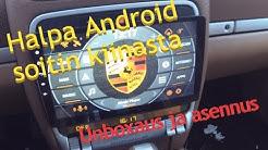 Halpa 10 tuuman Android autosoitin - unboxaus ja asennus