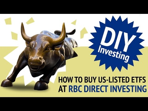 How to Buy US-Listed ETFs at RBC Direct Investing | DIY Investing with Justin Bender