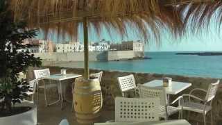 Gallipoli Cafes and Beaches Puglia Italy