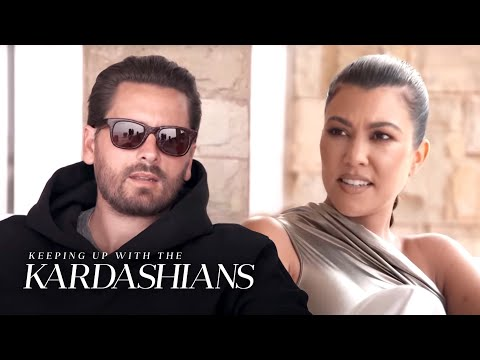 Scott Admits to Kourtney It's Hard to See Her With Other Men | KUWTK | E!