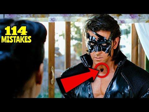 "Download 114 Mistakes In Krrish 3 - Plenty Mistakes In ""Krrish 3"" Full Hindi Movie - Hritik Roshan"