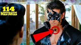 "114 Mistakes In Krrish 3 - Many Mistakes In ""Krrish 3"" Full Hindi Movie - Hritik Roshan"