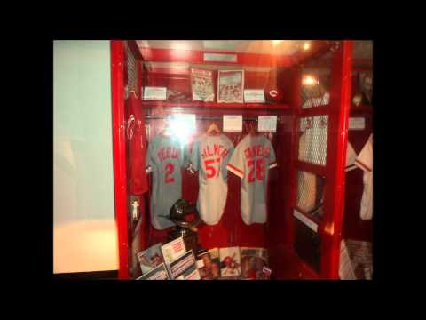 Cincinnati Red's Hall Of Fame and Ball Game at Great American Ball Park
