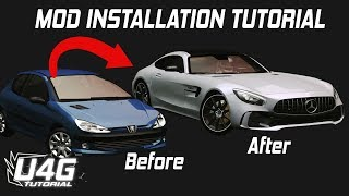 How to install car mods for NFS Underground 2 U4G
