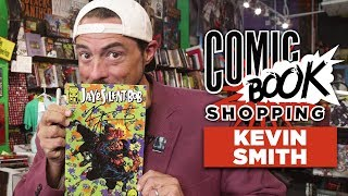 Kevin Smith Talks Jay & Silent Bob Reboot and Goes Comic Book Shopping