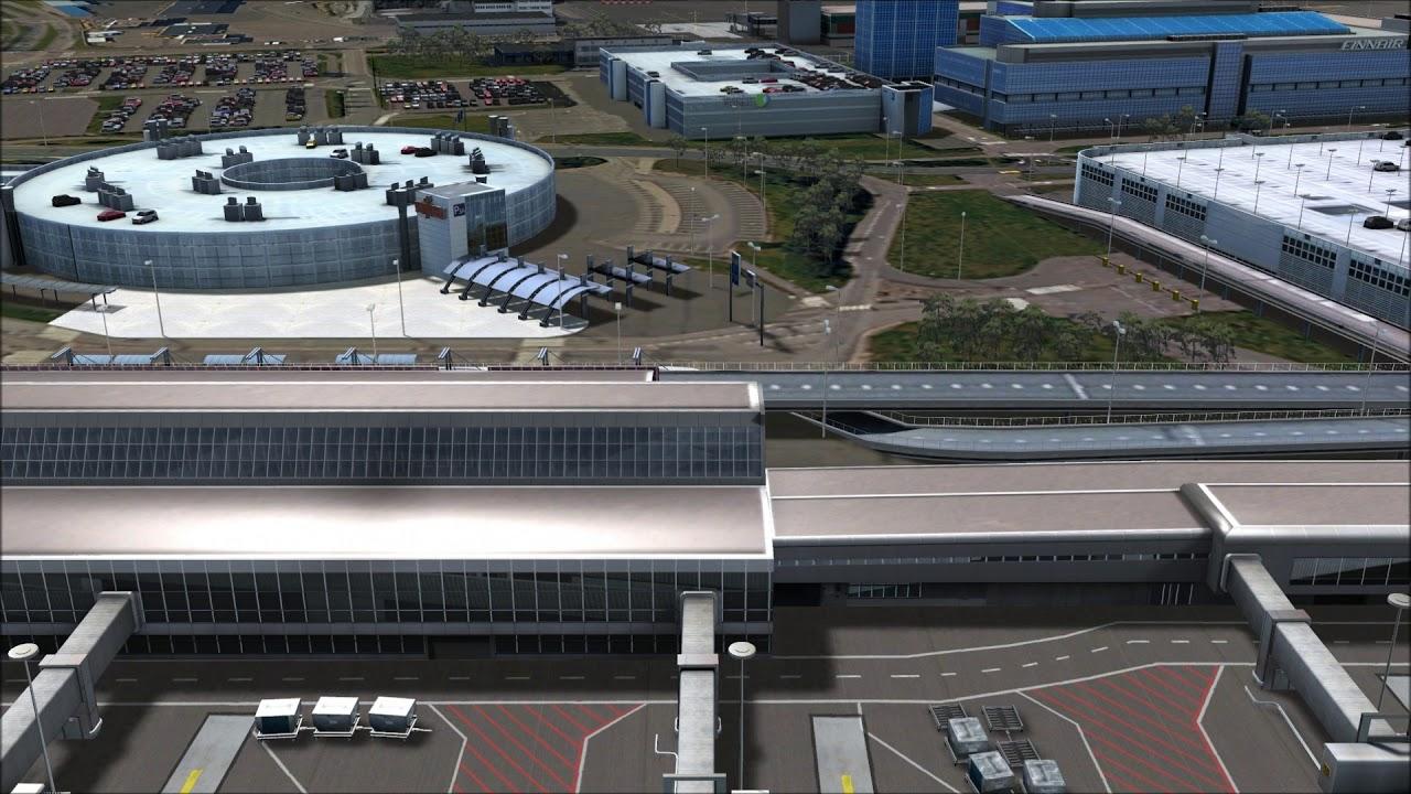 Mega Airport Helsinki Scenery Add-on for FSX & P3D