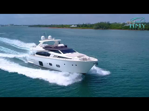 2012 Ferretti Yachts 80' - Genesis - For Sale By HMY Yacht Sales