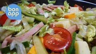 Быстрый салат. Приготовить сможет каждый.