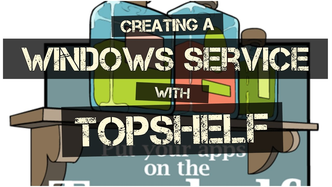 Self Host ASP NET Web API as Windows Service