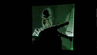 uv laser fade out test 0 (Daito Manabe + Motoi Ishibashi)