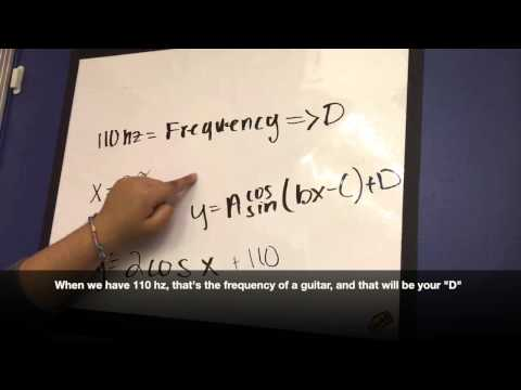 Trigonometry in Music Frequencies