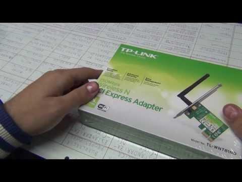 Unboxing adaptador WiFi PCI E TP Link Argentina LionTech! 1080p [HD]